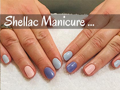 Beauty Salon in Portsmouth - shellac manicure
